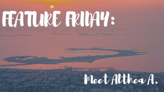 Feature Friday: Meet Althea A.