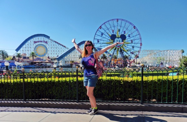 Solo at Disneyland